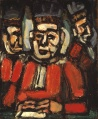 The three judges por Rouault en Tate Gallery.jpg